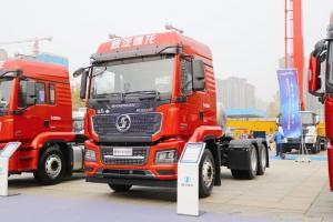 陕汽重卡 德龙M3000S 轻量化版 430马力 6X4 国六 LNG牵引车(SX4259MD4TLQ1)