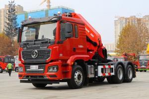 陕汽重卡 德龙M3000S 430马力 6X4 国五 随车式起重牵引车(HCZ680)(SX5258JQQHV404)