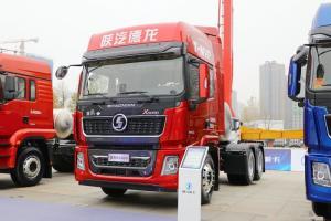 陕汽重卡 德龙X5000 尊享版 460马力 6X4 国六 LNG牵引车(SX4259XD4TLQ1)