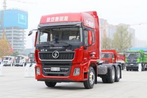 陕汽重卡 德龙X5000 500马力 6X4 LNG牵引车