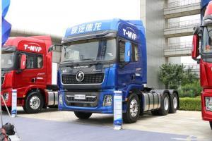 陕汽重卡 德龙X5000 轻量化版 550马力 6X4 国五 牵引车(蓝色)(SX4250XC4Q2)