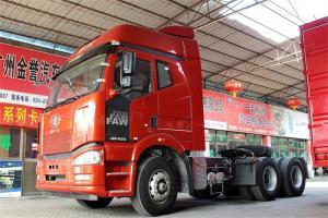 一汽解放 J6P重卡 500马力 6X4 国四牵引车(速比:3.364)(CA4250P66K25T1A1E4)