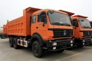 北奔 NG80B重卡 375马力 6X4 5.4米 国四自卸车(ND32502B38J)