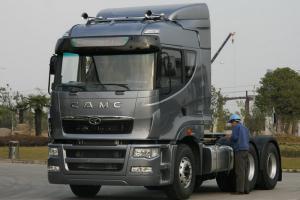 华菱 星凯马重卡 重载型 375马力 6X4 国五牵引车(HN4250A43C4M5)