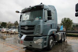 华菱 汉马H6重卡 350马力 6X4 LNG 国五牵引车(HN4250NGX38C9M5)