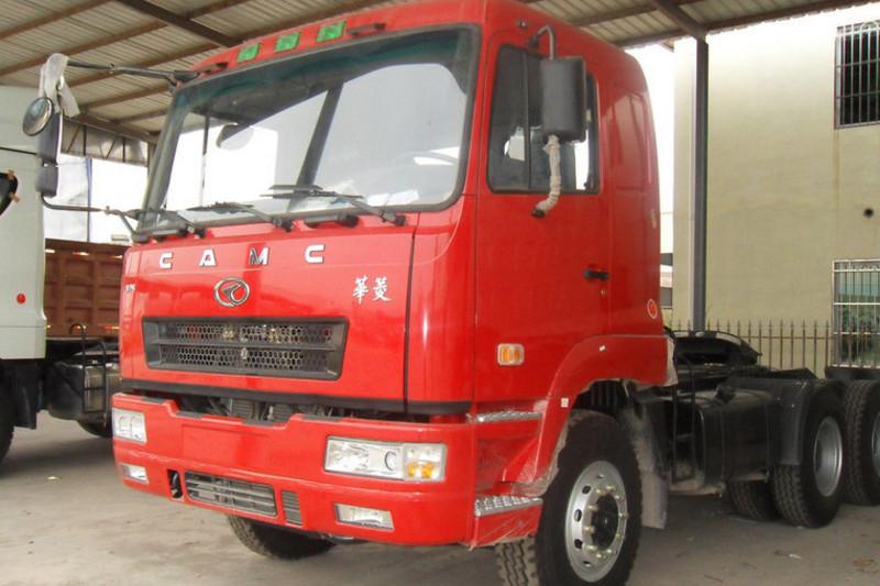 华菱重卡 重载型 420马力 6X4 国五牵引车(HN4250B43C4M5)