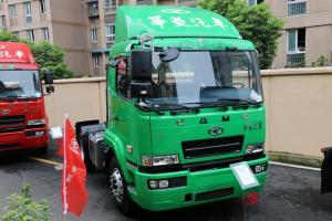 华菱之星 准重卡 260马力 4X2 国四牵引车(HN4180H27C4M4)