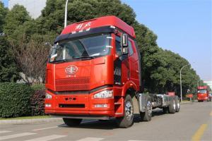 一汽解放 J6P重卡 复合型 420马力 8X4 9.5米 国五仓栅式载货车(CA5310CCYP66K2L7T4E5)