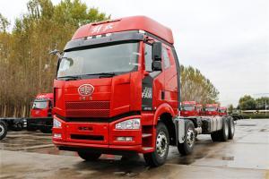 一汽解放 J6P重卡 复合型 390马力 8X4 9.5米 国五栏板载货车(CA1310P66K2L7T4E5)