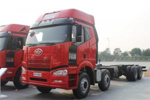 一汽解放 J6P重卡 350马力 8X4 9.5米 国四栏板载货车(CA1310P66K2L7T4E4)