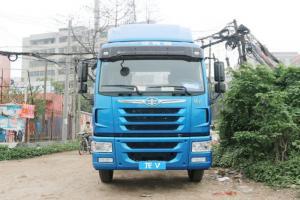 一汽解放青汽 龙VH中卡 180马力 4X2 7.7米 国五厢式载货车底盘 运满满&解放定义车
