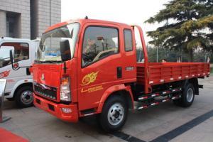 中国重汽HOWO 悍将 109马力 3.8米 4X2 国四排半栏板轻卡(ZZ1047D3414D145)