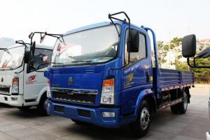 中国重汽HOWO 悍将 115马力 4.2米 4X2 国四单排越野栏板轻卡(ZZ2047E3425D141)