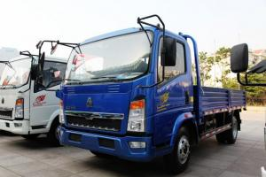 中国重汽HOWO 悍将 113马力 4.2米 4X2 国四单排栏板轻卡(ZZ1047D3415D145)