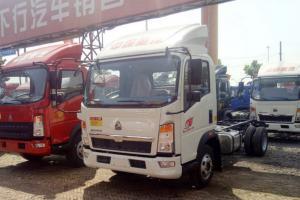 中国重汽HOWO 悍将 143马力 4.2米 4X2 国五单排栏板轻卡底盘(ZZ1047F3315E145)