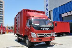 福田 奥铃TX 110马力 4.2米 4X2 国五单排厢式轻卡(液刹)(BJ5049XXY-C1)