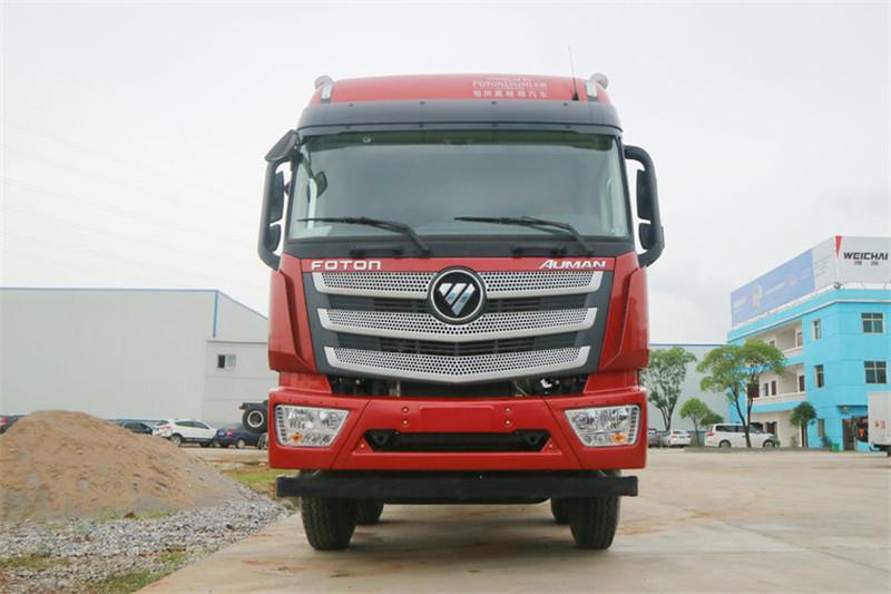 福田 欧曼est 400马力 国五8x4 9.5米栏板载货车(bj1319vnpkj-aa)图片