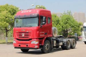 联合卡车 U系重卡 370马力LNG 国五6×4牵引车(QCC4252N654)
