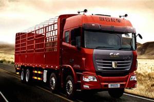 联合卡车 U系重卡 350马力 国五8×4 仓栅式载货(QCC5312CCYD656)
