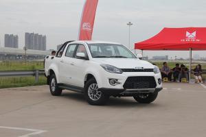 江铃皮卡 域虎3 2018款 柴油 2.5T 四驱标轴 豪华版