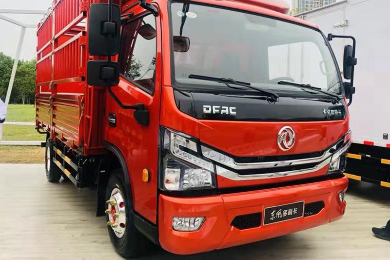东风多利卡 D6 3300轴距 国六 仓栅式载货车
