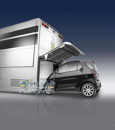 奔驰房车:a-cero设计可长期居住超豪华房车