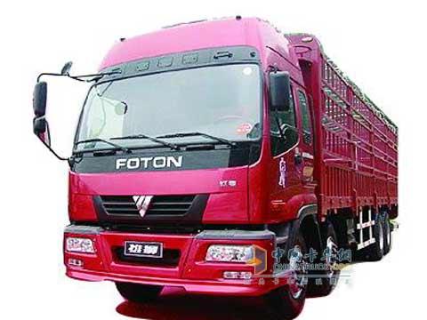 10月,伴随着一辆北汽福田欧曼etx重型卡车的下线,北京汽车工业集团图片