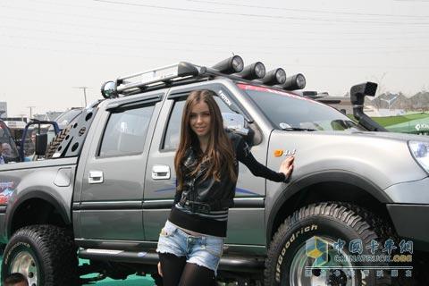 2010北京车展福田汽车国外车模