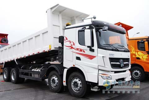 北奔重卡v3全国巡展随车报告--中国卡车网记者10
