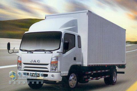 2010年年初,   江淮轻卡   对产品架构进行调整,通过价位区高清图片