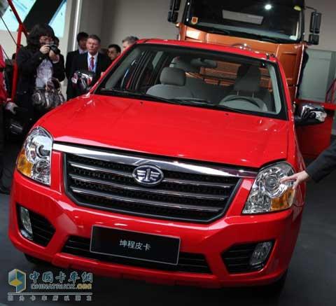[上海车展]一汽通用坤程皮卡首次亮相上海国际车展