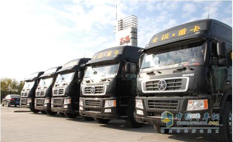 22辆大运重卡牵引车落户安徽用户 - 重卡 - 中国卡车