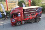 福田欧曼GTL出征2011环塔拉力赛赛场视频