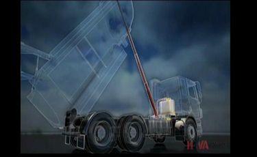 海沃机械K系列油缸全景3D动画演示
